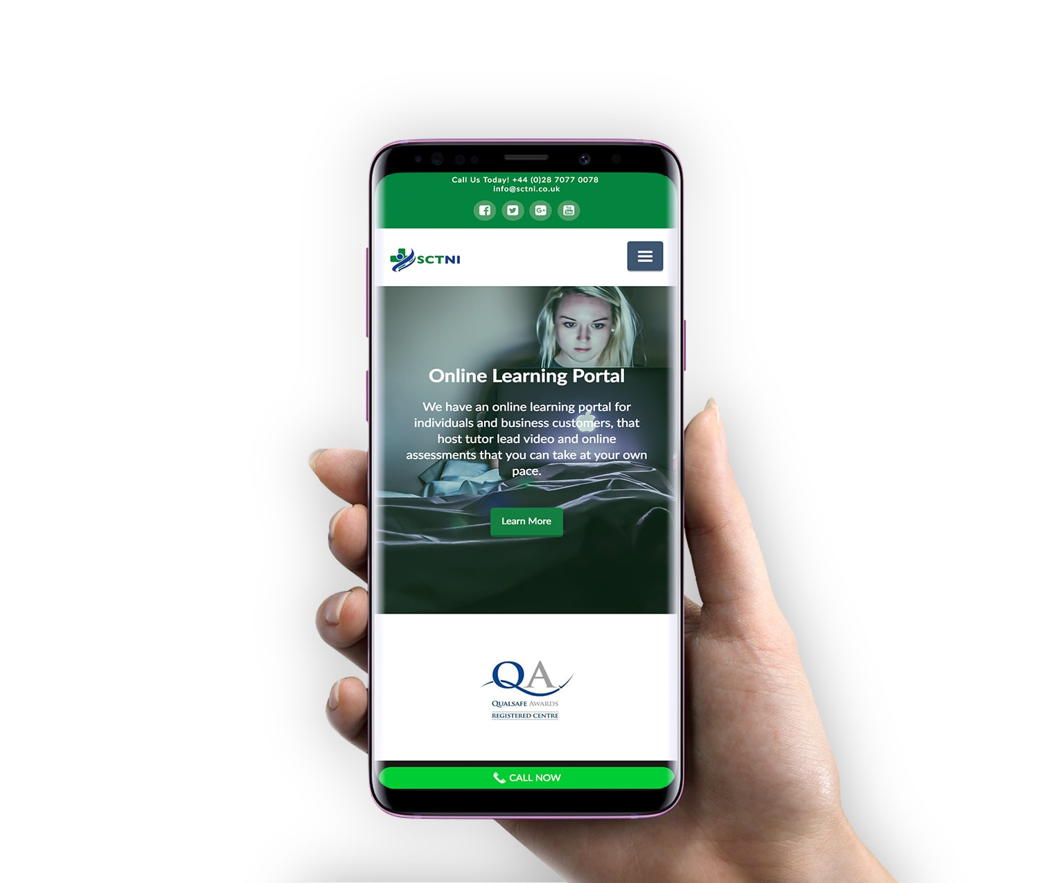 Mobile Friendly Website Design - SCTNI