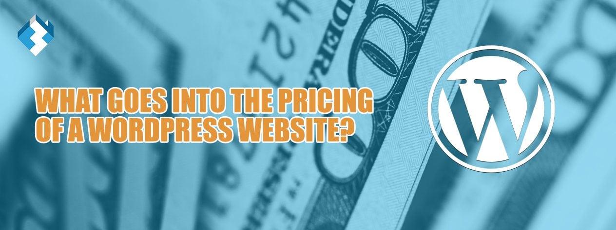 Wordpress pricing website